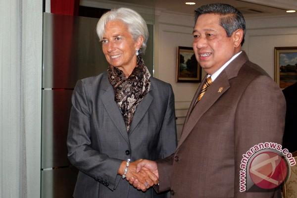 IMF chief  meets President Yudhoyono