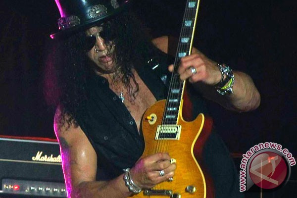 Slash dianugerahi bintang Hollywood