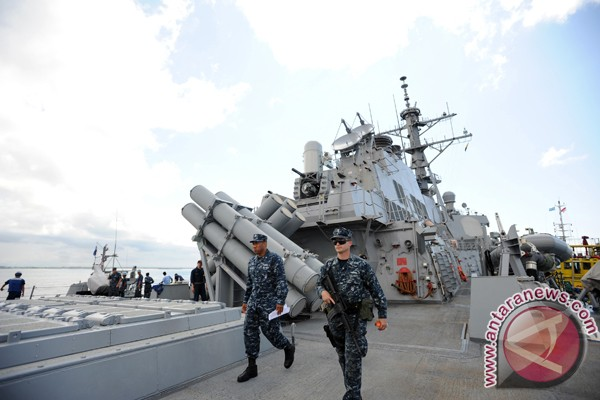 US and Indonesian navy warships to conduct joint exercise