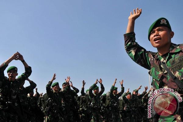 Satuan Tugas Perbatasan TNI diberangkatkan ke Papua