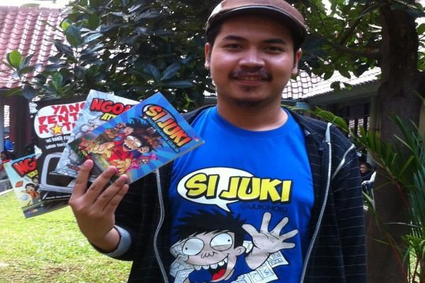 Kiat komikus Faza Meonk populerkan karakter