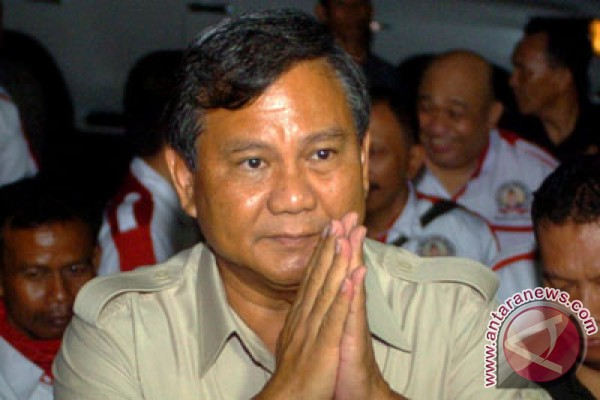 Prabowo hadir di posko Jokowi-Ahok