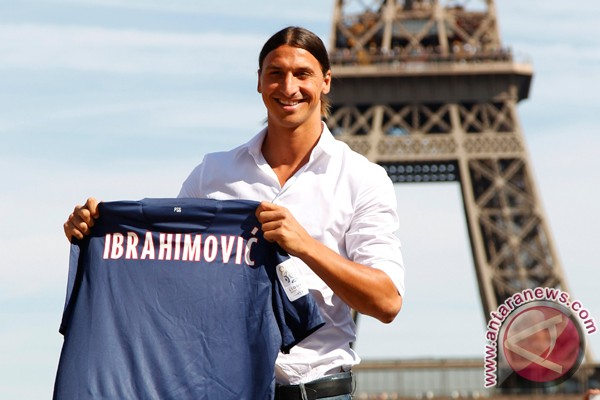 Ibrahimovic ikut tur PSG ke AS