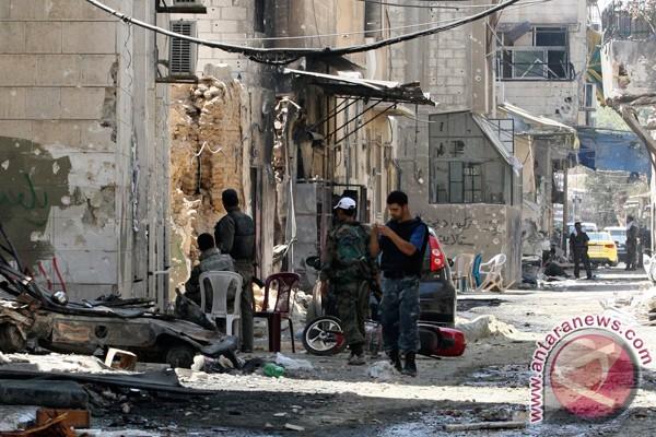 Pertempuran berkobar di Damaskus