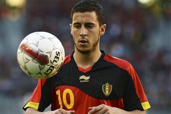 Eden Hazard ingin samai Messi