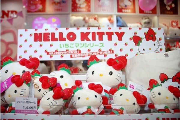 Hello Kitty jadi superhero