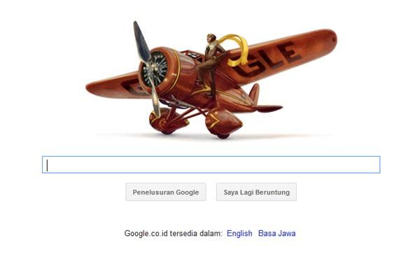 Google peringati ulang tahun Amelia Earhart