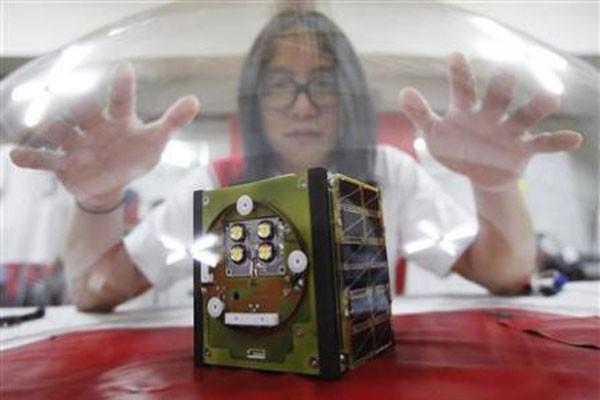 Satelit buatan mahasiswa Korea meluncur ke antariksa