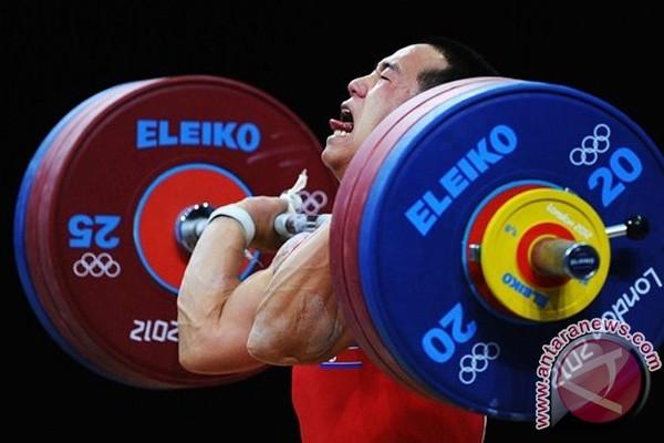 Rekor baru angkat besi Olimpiade terpecahkan