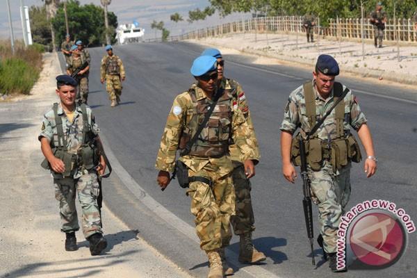 TNI patroli gabungan di Lebanon