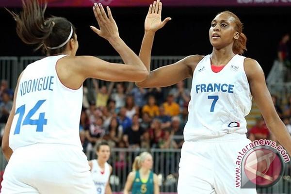 Basket putri Prancis menang dramatis