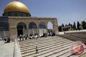 Jordania desak Israel hentikan pelanggaran terhadap pegawai masjid