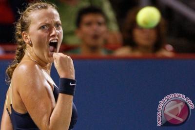 Juara Wimbledon Kvitova ke semifinal New Haven