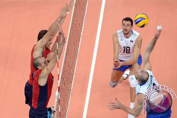 Tim voli AS dan Rusia tak terkalahkan