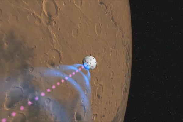 Pesawat NASA akan mendarat di Mars dalam hitungan jam