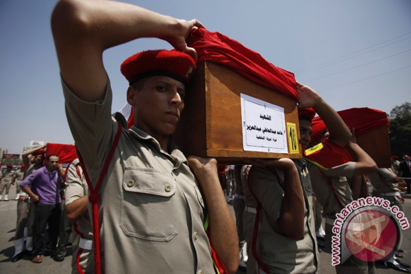 Mesir perkuat pasukan di Sinai
