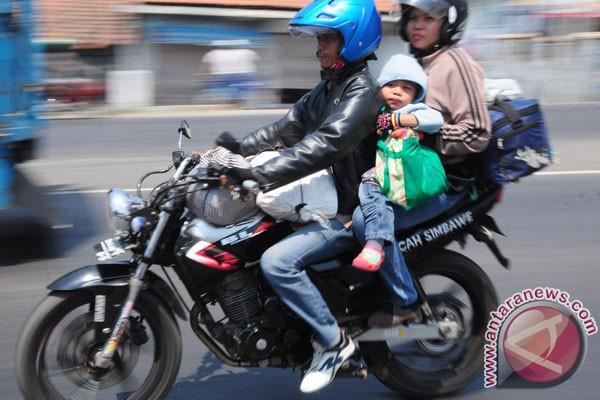 Pemudik diminta tak bawa anak pakai motor