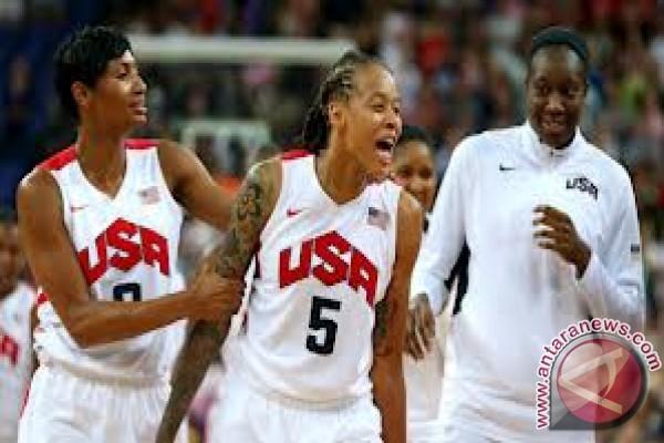 AS raih emas dalam final basket putri