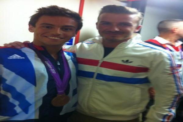 Beckham SMS atlet loncat indah Inggris