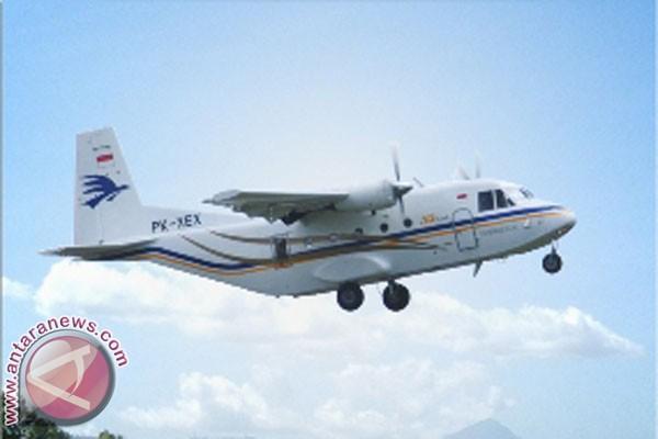 Merpati pakai pesawat PT DI untuk penerbangan perintis