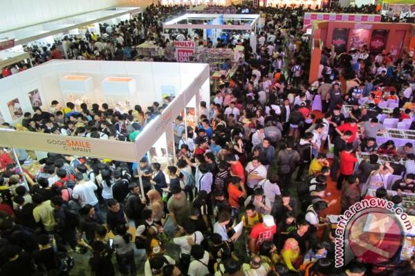 Ribuan pengunjung padati Anime festival Asia Indonesia 2012