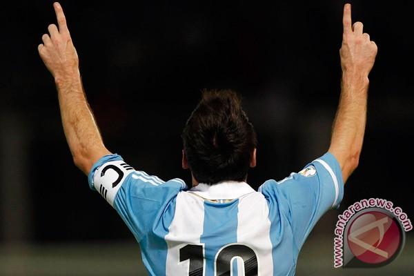 Gol Messi menangkan Argentina atas Uruguay