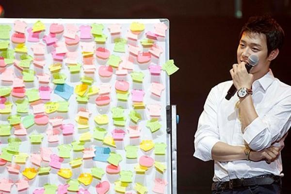 Park Yoochun JYJ temui penggemar di China