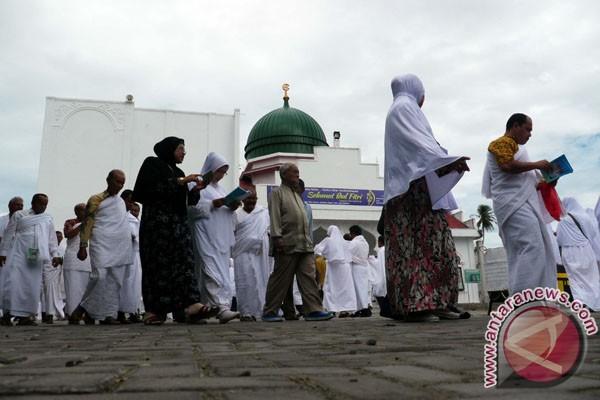 Ratusan calon haji Banda Aceh ikuti manasik