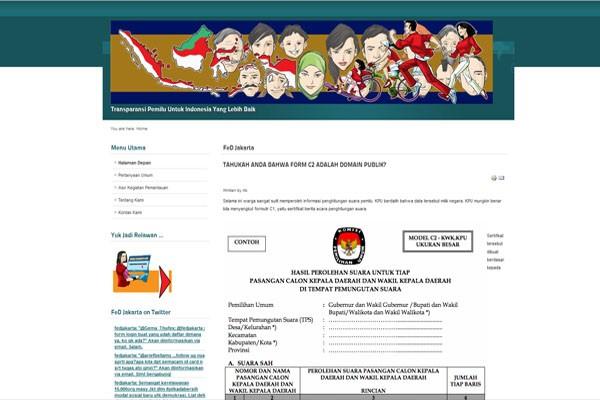 Forum eDemokrasi, dari alumnus ITB untuk Pilkada DKI