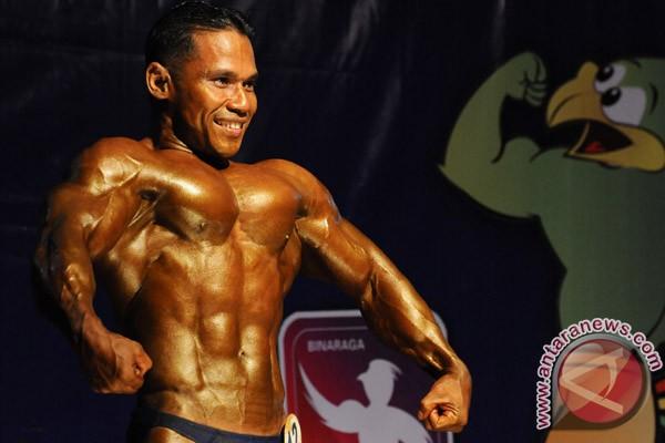 Asrelawandi bertekad pertahankan juara dunia binaraga