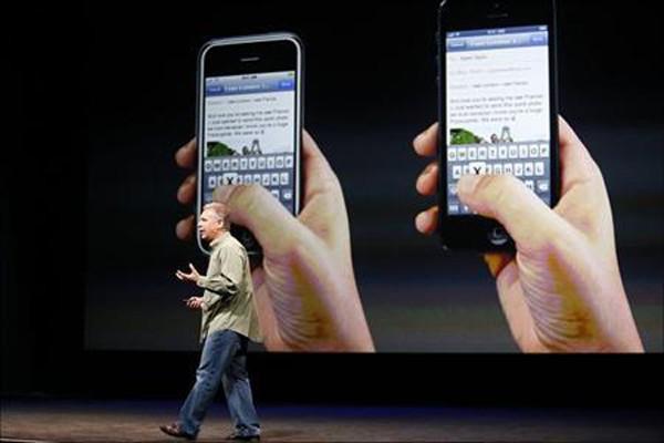 Apple resmi luncurkan iPhone 5