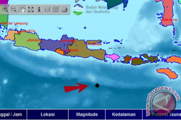 Banyuwangi diguncang gempa 5,8 SR
