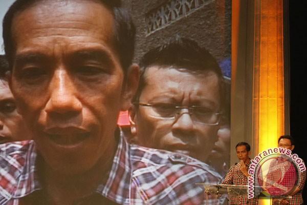 Jokowi shalat jumat dekat tempat wudhu