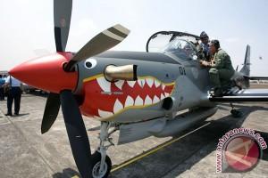 155 pesawat TNI AU meriahkan HUT ke-70 TNI