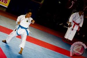 Karateka nasional simulasi jelang kejuaraan dunia