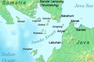 Cuaca buruk masih terjadi di Selat Sunda