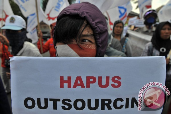 Lagi, demo anti-outsourcing di BUMN