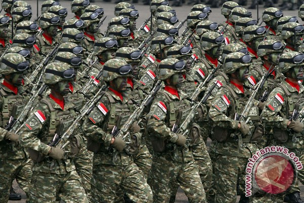 Gaji pokok anggota TNI/Polri naik