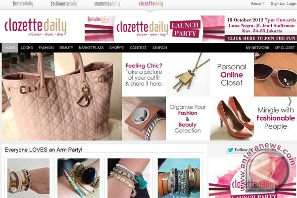 Clozette Daily, jejaring sosial fashion pertama di Indonesia