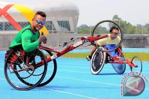 ASEAN Para Games - Doni Yulianto sumbang emas nomor kursi roda 1.500m