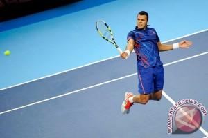 Tsonga taklukkan Isner di Wimbledon