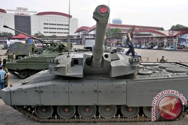 Jumlah pembelian tank Leopard masih nego