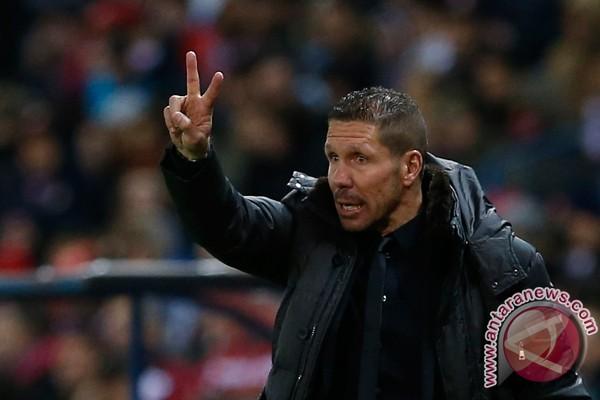 Pelatih Atletico Simeone perpanjang kontrak sampai 2017