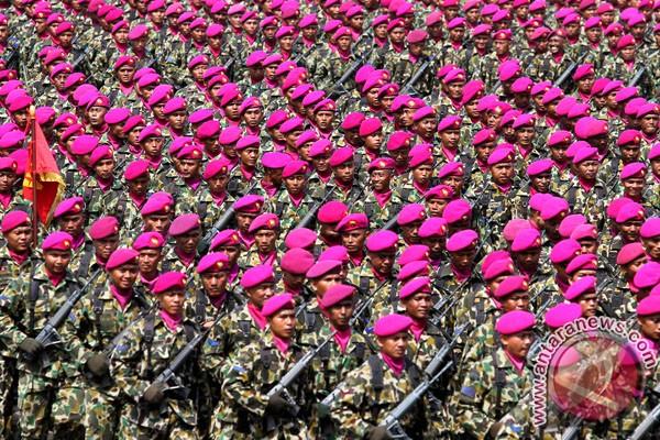 Korps Marinir TNI AL selalu maju