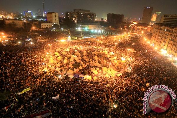 Surat-surat kabar Mesir memrotes