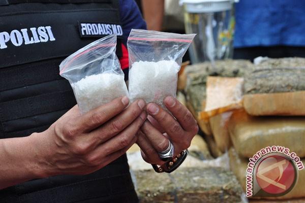 Polres Nunukan amankan 6,4 kg sabu
