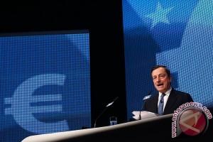 Euro sedikit menguat setelah pertemuan ECB