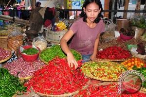 Harga cabai dan bawang di Makassar naik