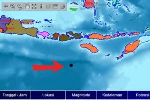 Gempa bumi 3,5 SR guncang Sumba barat