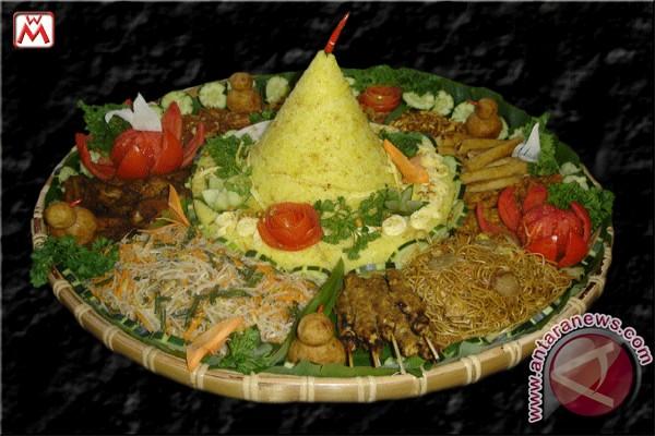 Nasi tumpeng, ikon kuliner tradisional indonesia
